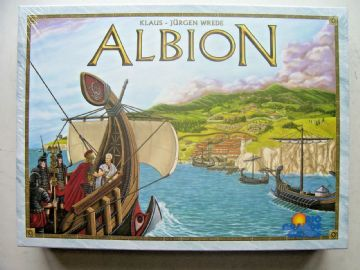 Albion Game Klaus - Jurgen Wrede  Rio Grande Games (New and Sealed)